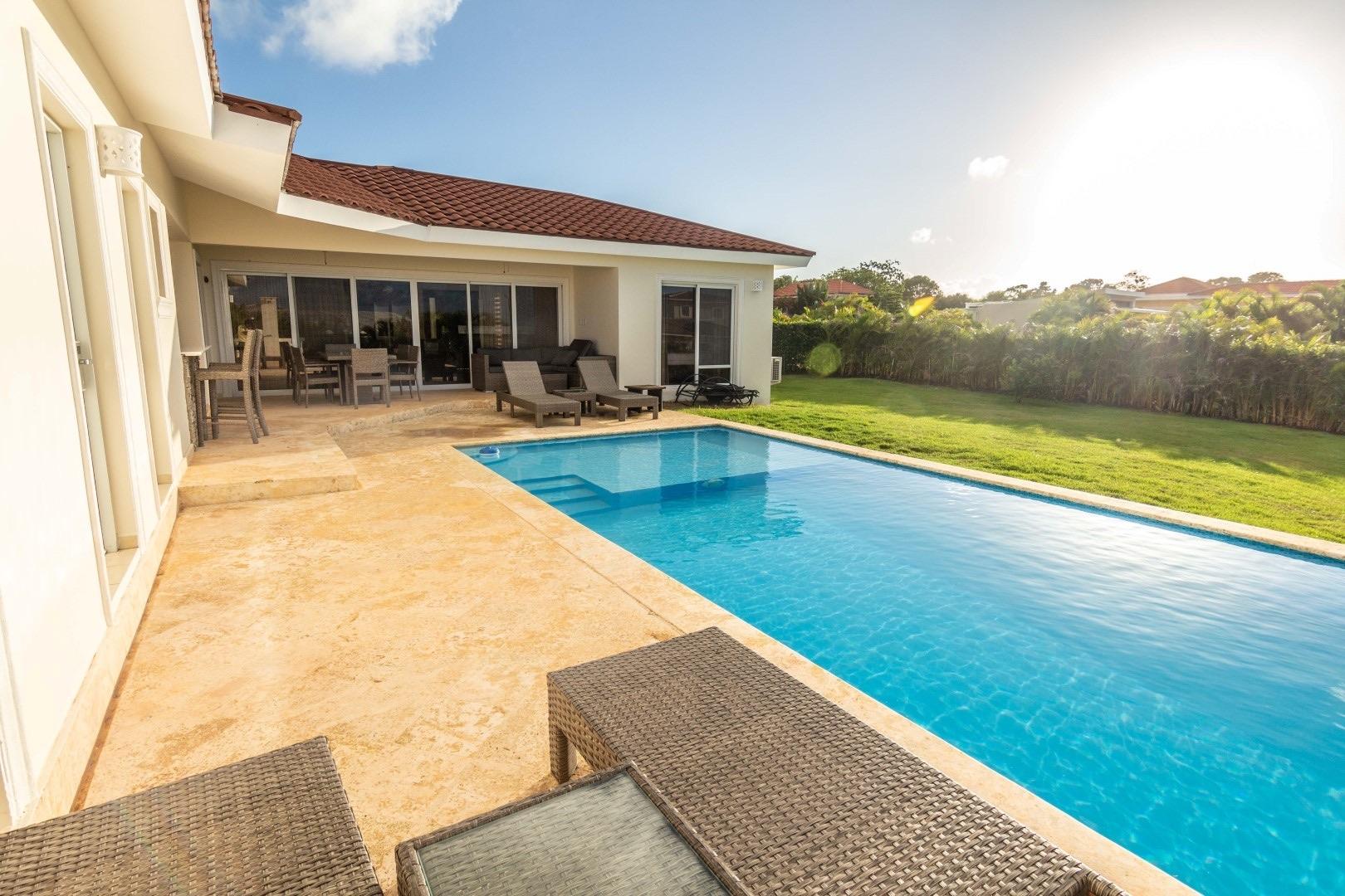 3 Bedroom Rental Sosua Villa With Lap Pool