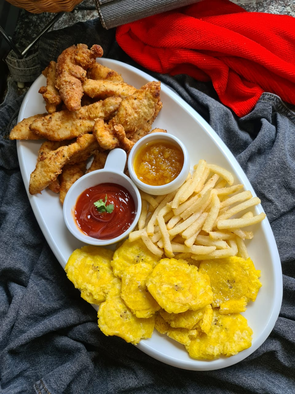 Dominican fried chicken