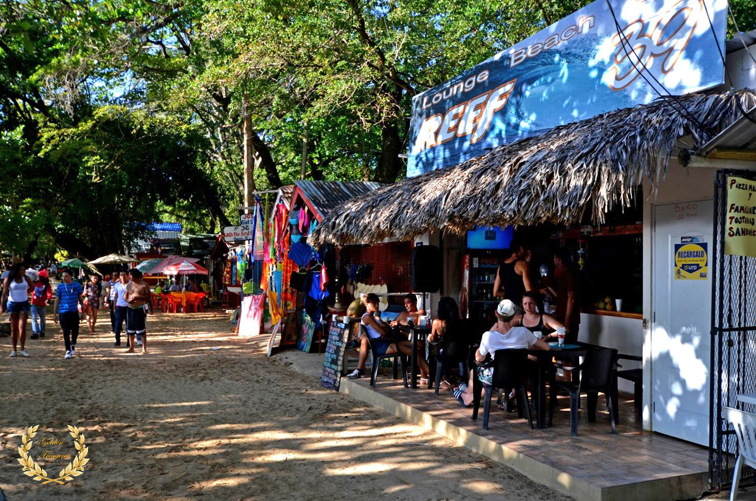 Reef Bar And Cafe In Sosua Beach