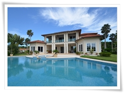high end beach rental in Cabarete beach, of European finish