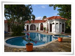 villa rental between cabarete and sosua