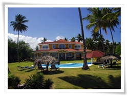 private 5 bedroom villa for rent, just 20 mins from Cabarete beach