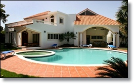 Dominican Republic luxury villa rental in Cabarete beach near encuentro
