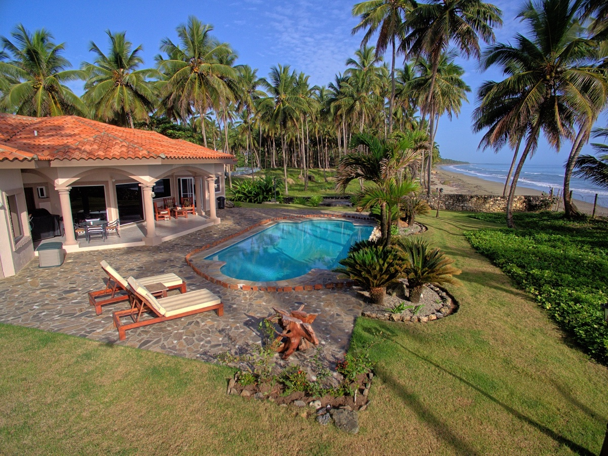 Beach Front Villa For Sale in Dominican Republic