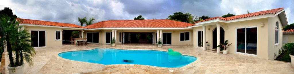 villa ultima in Sosua is a perfect vacation house to fit for wheel chair friendly living