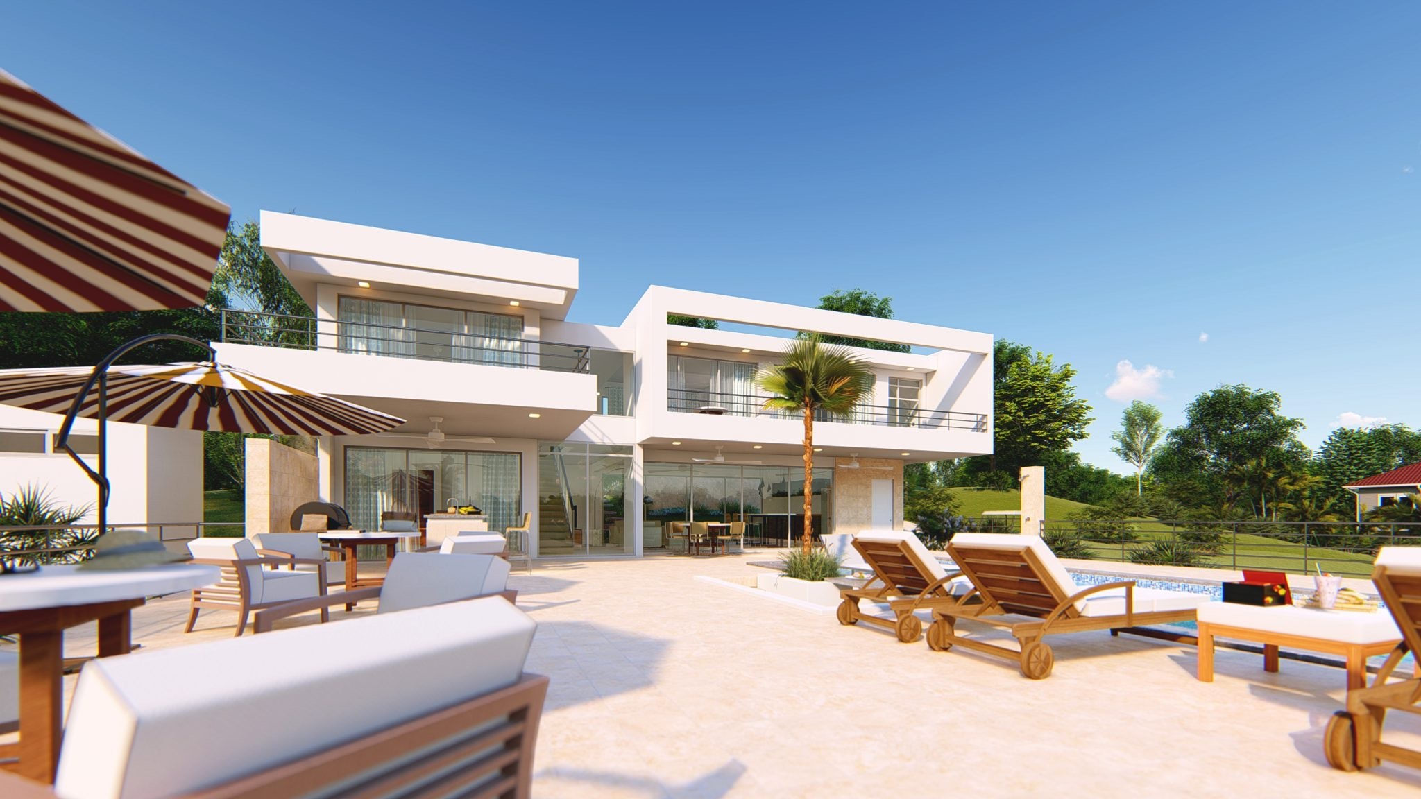 Modern 3 Bedroom Villa Sosua For Sale Dominican Republic