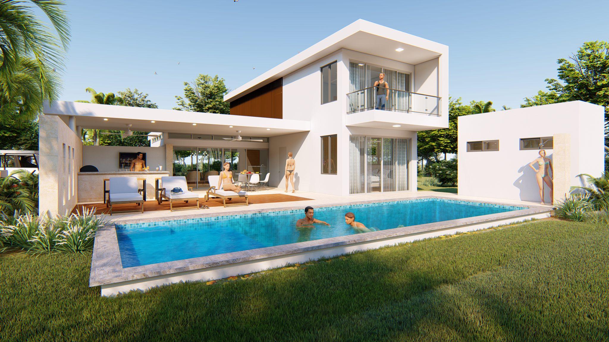 3 Bedroom Modern Villa Sale Sosua Dominican Republic