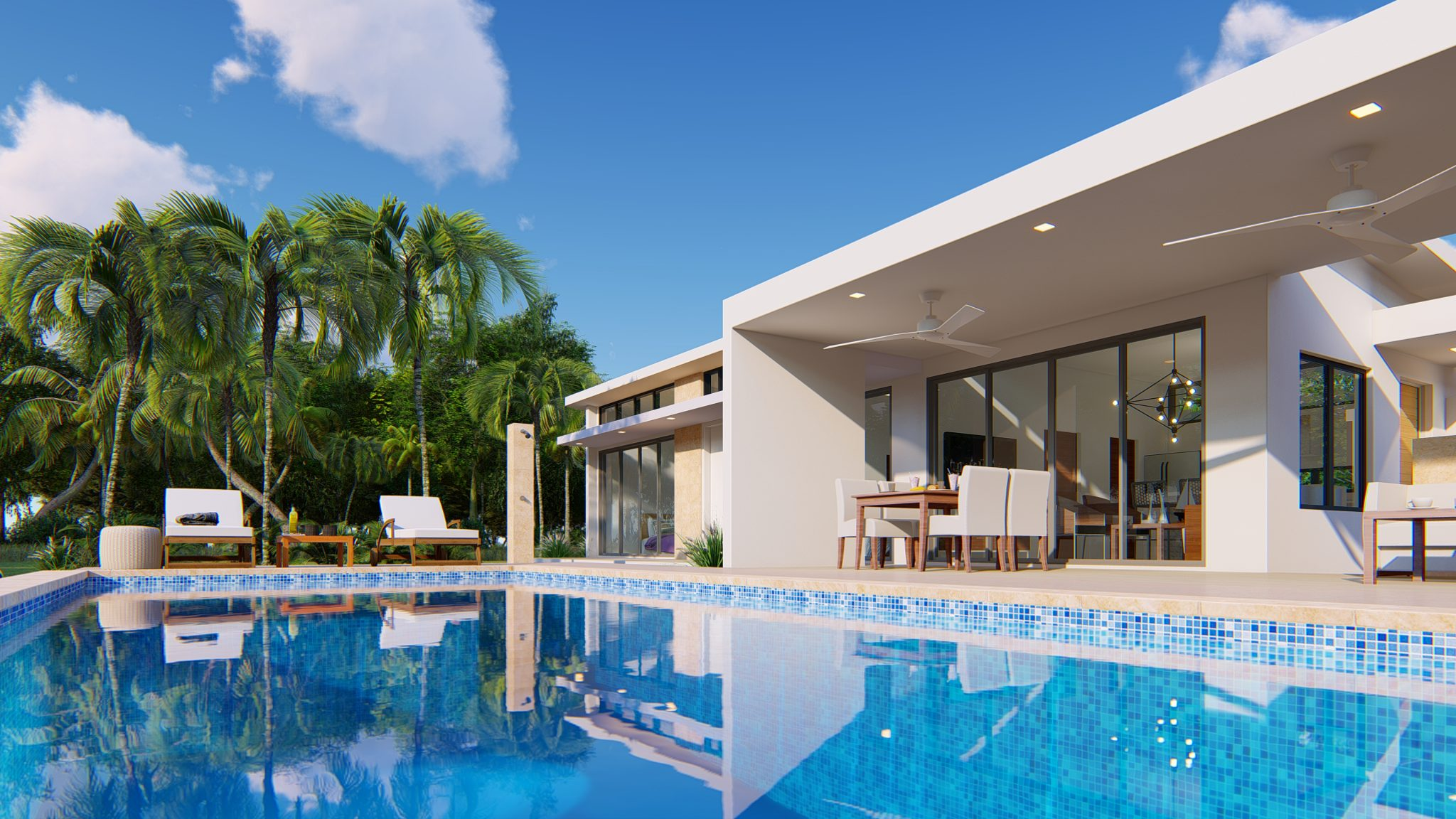 2 Bedroom Contemporary Design Villa Sale Sosua Dominican Republic