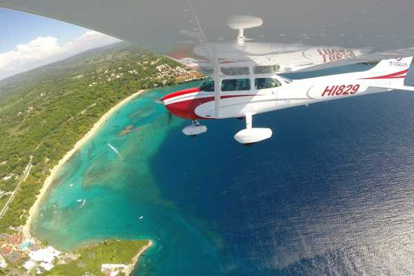 aerial real estate tours flights in Sosua Puerto Plata Cabarete