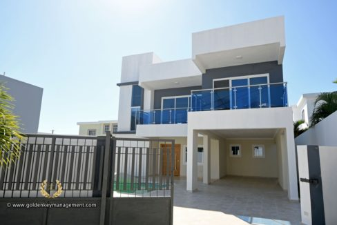 Puerto plata house 3 bedroom facade