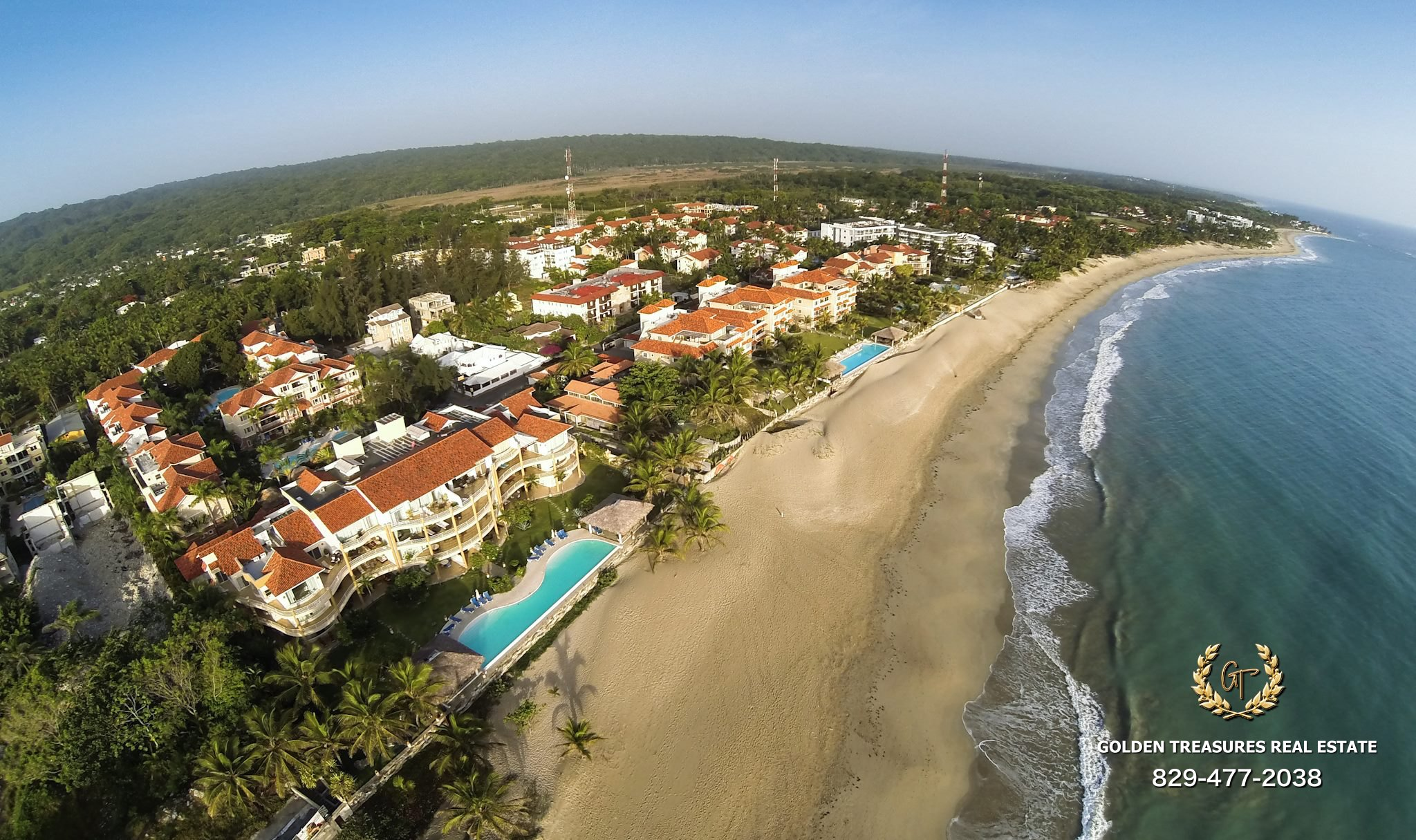 Cabarete Beach Condo For Sale 2 Bedroom $230k