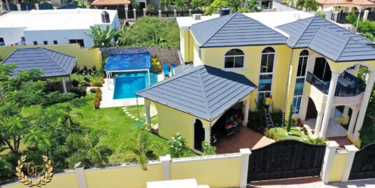 Puerto Plata luxury house Aerial view
